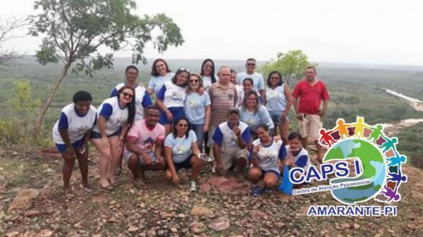 Caps de Amarante na comunidade Quilombo Mimbó