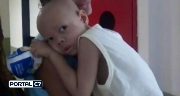 Criança de 5 anos sofre com Leucemia e família faz campanha no Piauí