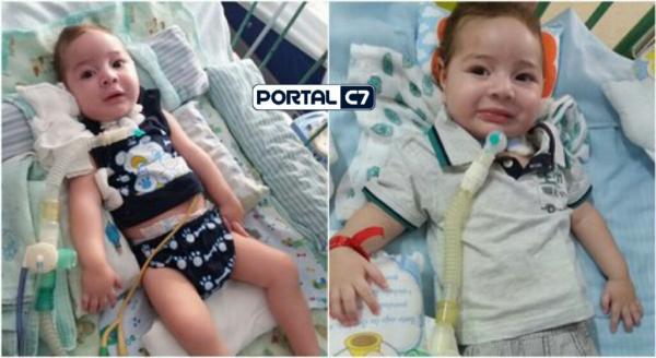 Família piauiense faz campanha para criança de 8 meses com AME