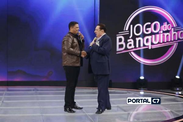 Cantor evangélico piauiense se apresenta no programa Raul Gil do Sbt neste sábado (03)