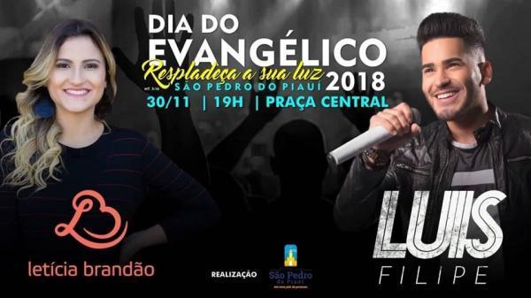 Dia do Evangélico será comemorado com grande show em São Pedro do Piauí