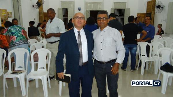 Igreja Batista Ebenézer recebe Pastor Josineide Amorim com a Palavra de Deus; veja!