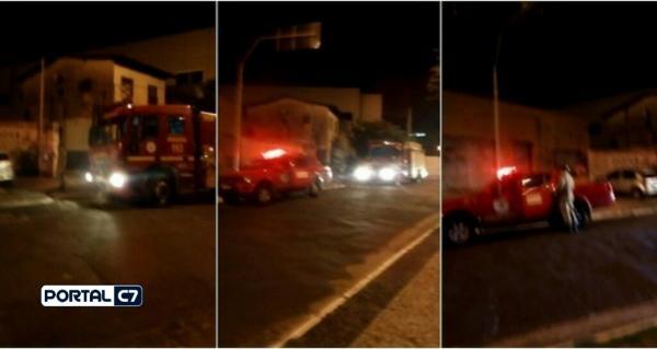 Incêndio atinge oficina na Zona Sul de Teresina; Bombeiros acionados