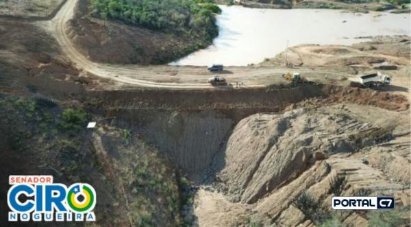 Ciro Nogueira garante R$ 5 milhões para construção da barragem de Betânia do Piauí