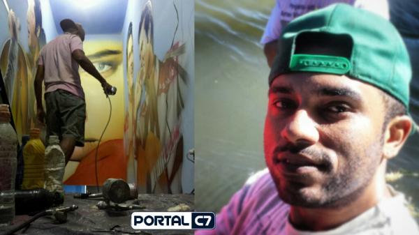 Artista de Amarante John Neto leva o trabalho de grafite para o mundo; confira!