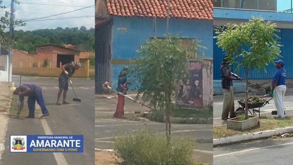 NOTA: Prefeito Diego Teixeira avisa que a limpeza na cidade chegará em todos os bairros