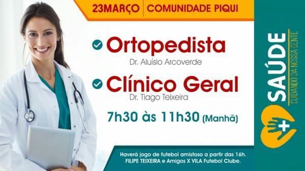 Programa 'Mais Saúde' chega no município de Palmeirais Piauí