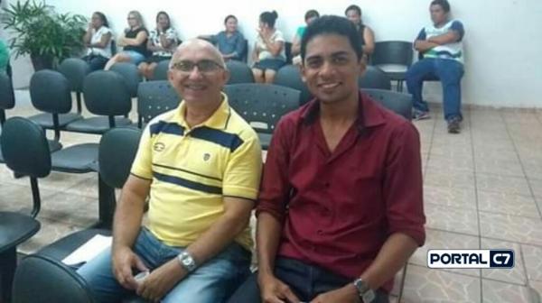 Pastor e chefe do gabinete da prefeitura Josineide Amorim e Secretário da educação Ironilson