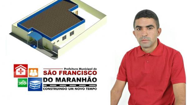 Prefeito Adelbarto Santos divulga reforma na saúde da UBS no Maranhão