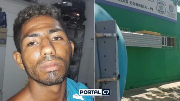 Quadrilha quebra cadeados, invade delegacia e resgata homem preso no Piauí