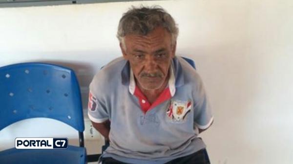 Acusado de estupro na Paraíba de 63 anos é preso pela PM do Piauí