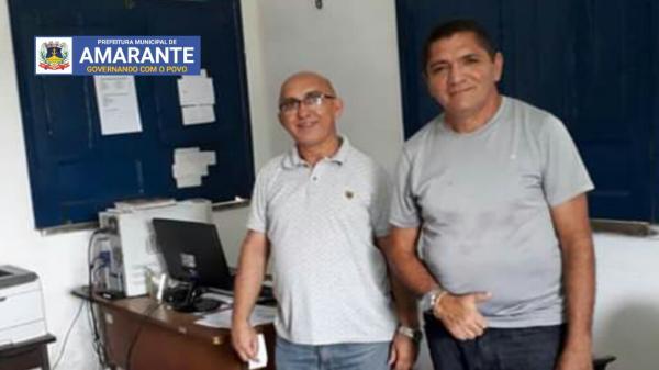 Amarante: Pastor Josineide Amorim se reúne com supervisor da Agespisa