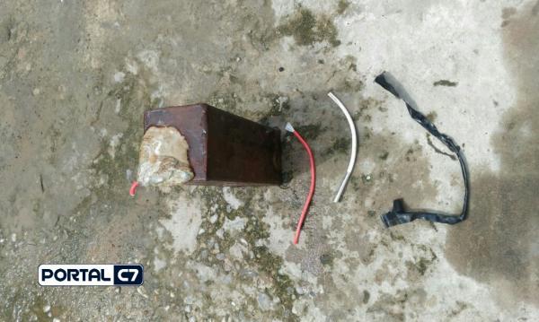 PM apreende explosivo em casa de assaltante do McDonald's em Teresina