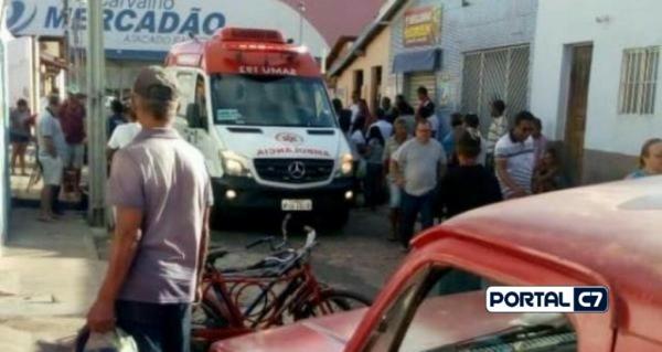 Mototaxista do Piauí sofre infarto e morre em seu local de trabalho