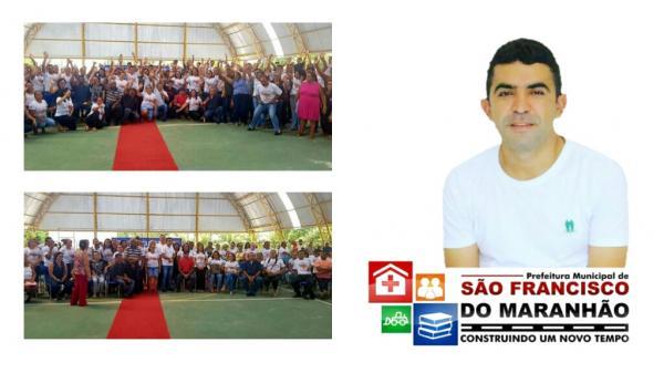 Prefeitura de São Francisco do Maranhão encerra sua semana Pedagógica e Realiza pagamento de Fevereiro