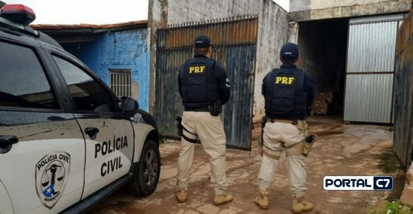 Polícia recupera carga milionária e prende 5 suspeitos no Maranhão e Piauí
