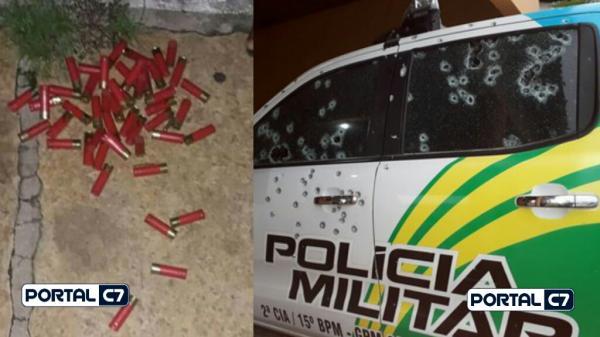 Urgente: Bandidos metralham viaturas da PM e arrombam banco no Piauí