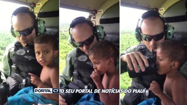Criança de três anos desaparecida é resgatada dentro de matagal no Maranhão