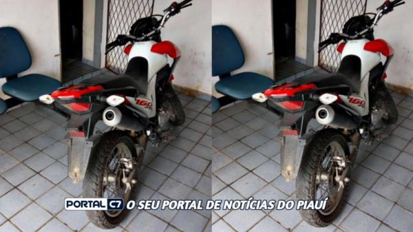 Polícia de São Francisco do Maranhão recupera moto roubada em Amarante