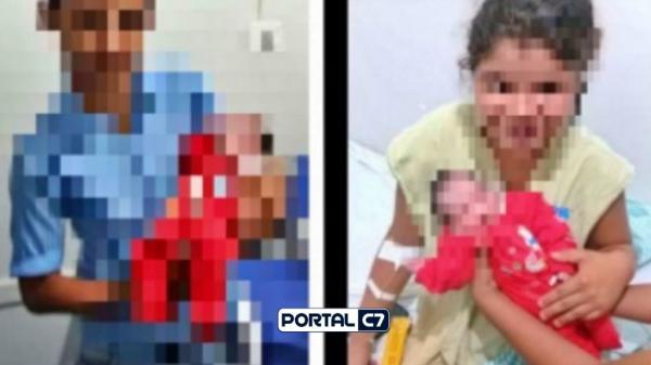 Criança de 12 anos engravida de garoto e dá à luz a bebê: 'É tão bom ser mãe', disse a garotinha