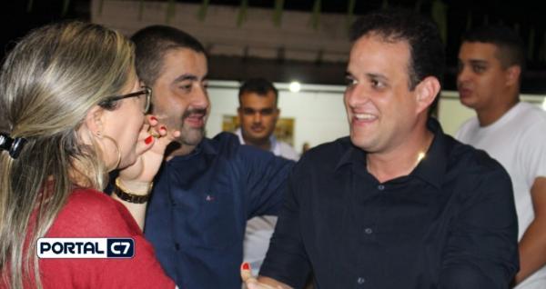Prefeito Diego Teixeira e autoridades se reuniram nos festejos de Lagoa do Piauí