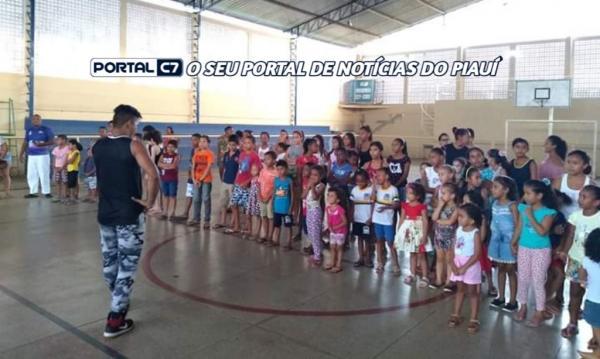 Secretaria da Assistência Social de Amarante realiza 'Aulão da Integração'