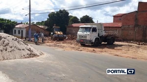 Construção da rodoviária/Crédito: Dj.Gustavo