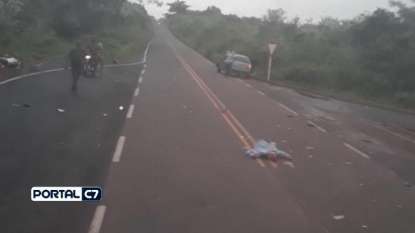 Idoso morre após ser colhido violentamente por veículo na PI 113