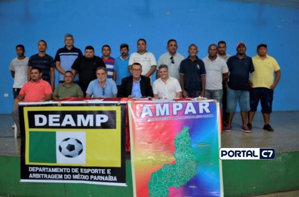 Reunião: Secretários de Esportes define início do 3º Copão Ampar de Futebol
