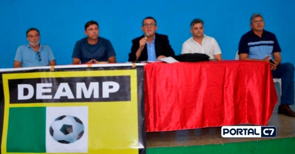 Reunião para definição do 3º Copão AMPAR/Imagem: Valdomiro Gomes
