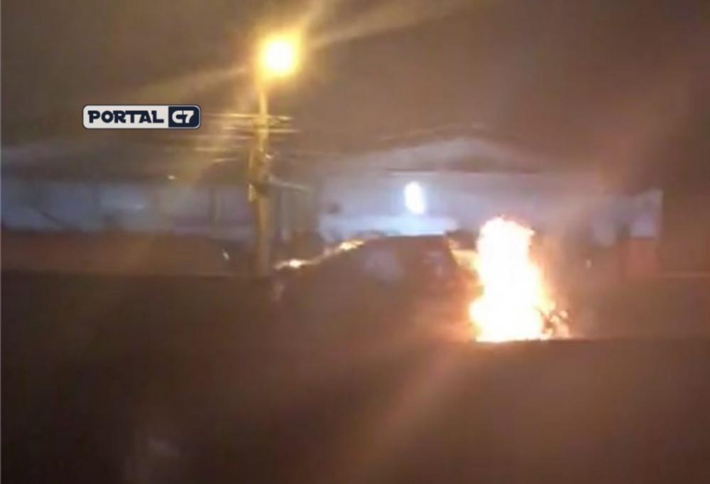 Colisão entre carro e caminhão ocorreu no km 122 da BR-101 – Reprodução/RICTV