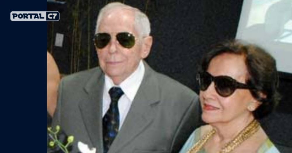 Dr Alcenor Almeida e sua esposa