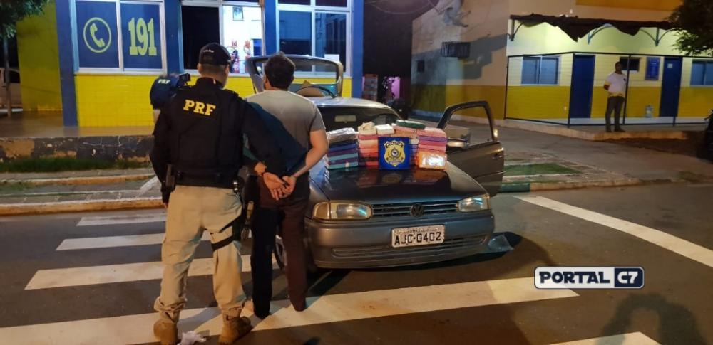 Foto: Divulgação/PRF-PI/Homem foi preso em Picos