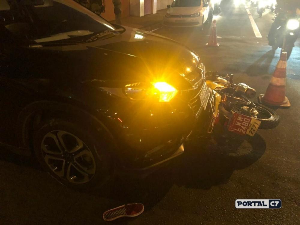 Homem surta em briga de trânsito e termina baleado em Teresina