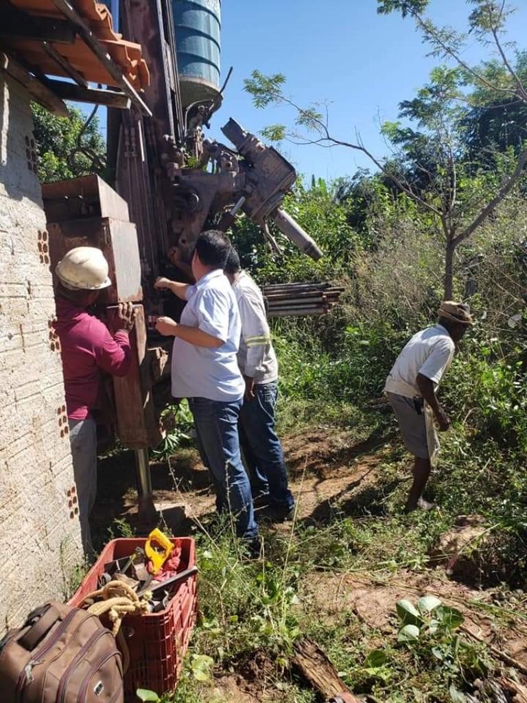 Prefeitura de Amarante recupera poço do Assentamento Chapada da Filomena