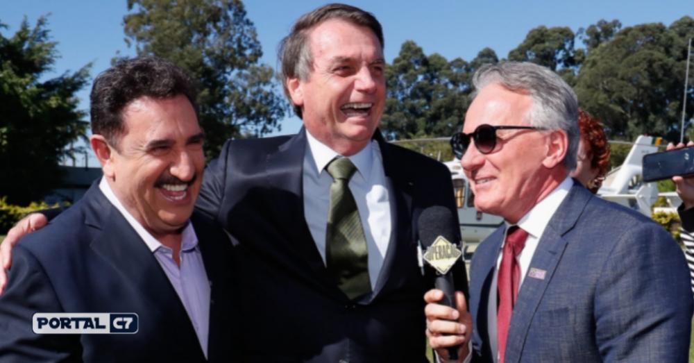 Ratinho defende o presidente Jair Bolsonaro - Foto: Alan Santos/PR