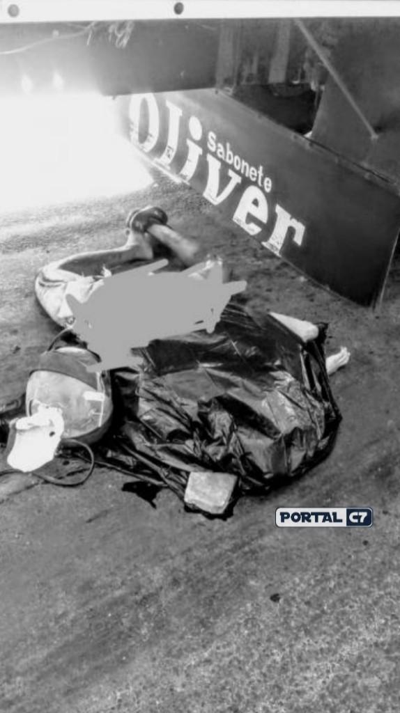 Homem morre esmagado por caminhão na BR 343 em Teresina