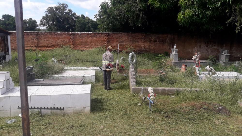 Ações de limpeza em Amarante chegam ao Cemitério do bairro Vila Nova