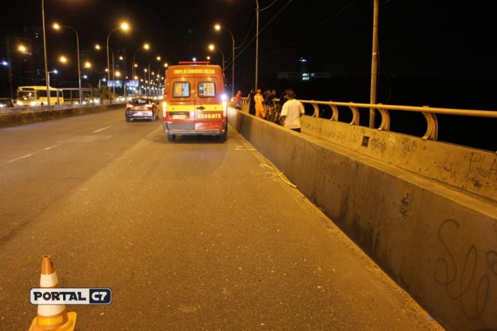 URGENTE: Mulher se joga da Ponte Juscelino Kubitschek em Teresina