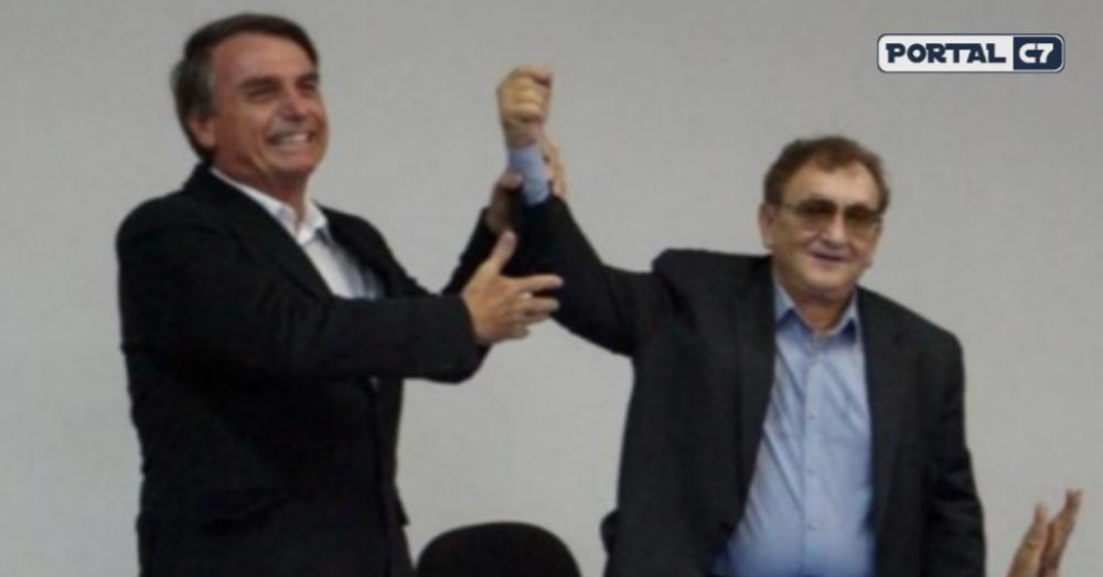 Jair Bolsonaro e Mão Santa