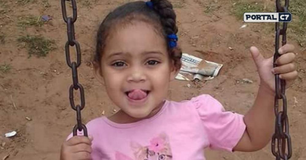 Gabrielly, de 5 anos, morreu após tomar medicação em unidade de saúde de Praia Grande (SP) — Foto: Arquivo Pessoal