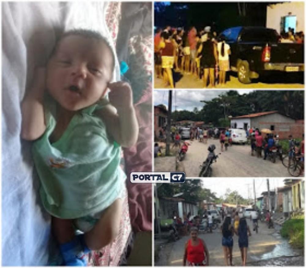 Bebê de dois meses desaparece da casa dos pais e família pede ajuda no Maranhão
