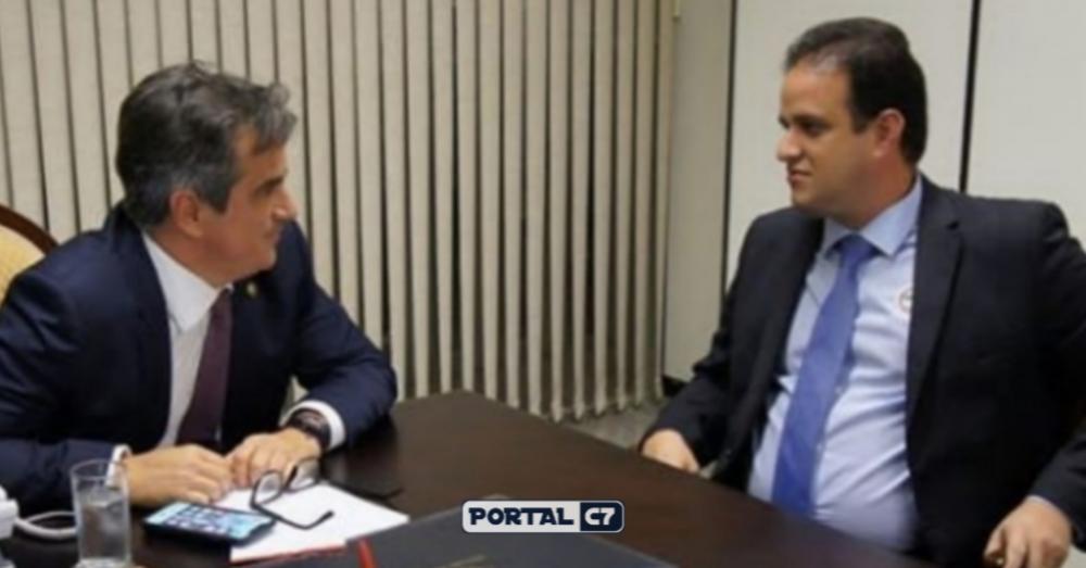 Senador Ciro Nogueira e Prefeito Diego Teixeira