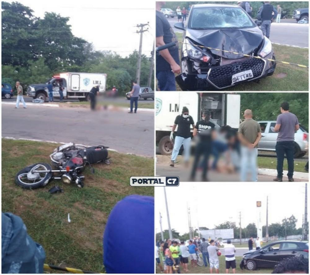 Após assalto, motorista persegue dupla em moto e mata adolescente no Maranhão