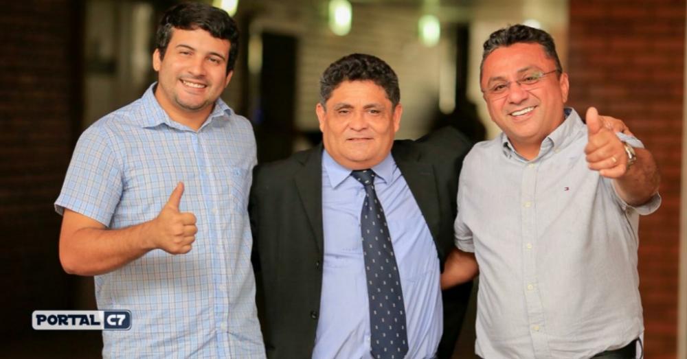 Foto: Lucas Dias/Deolindo, Cícero Magalhães e Dudu