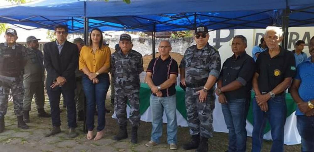 Gestão Municipal participa da entrega de viatura para a PM de Amarante