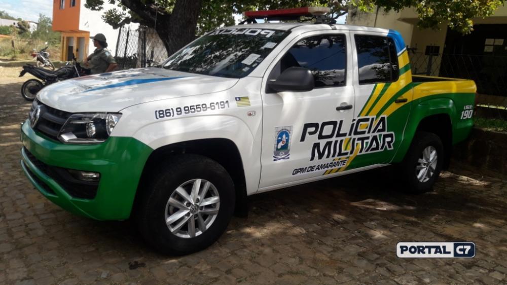 Nova viatura da Polícia Militar de Amarante