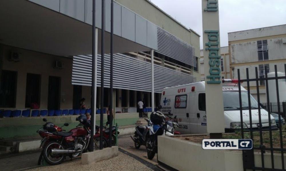Hospital Infantil Lucídio Portela — Foto: Gilcilene Araújo