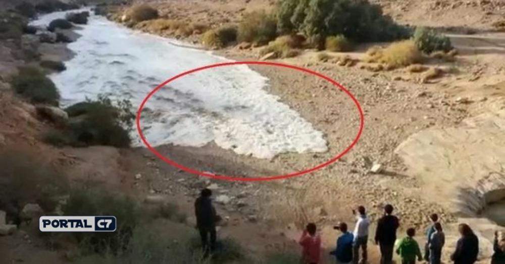 Profecia bíblica é cumprida após rio aparecer de forma misteriosa; veja!