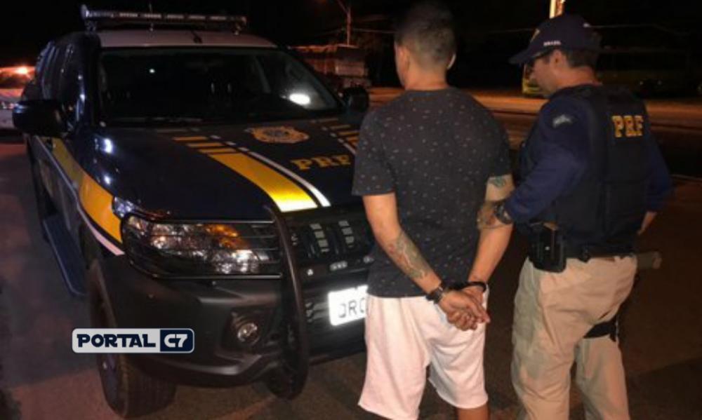 Foto: Divulgação/PRF-PI - Homem foi preso pela PRF em Teresina
